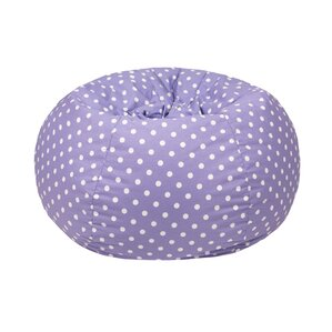 Polka Dot Bean Bag Chair b..