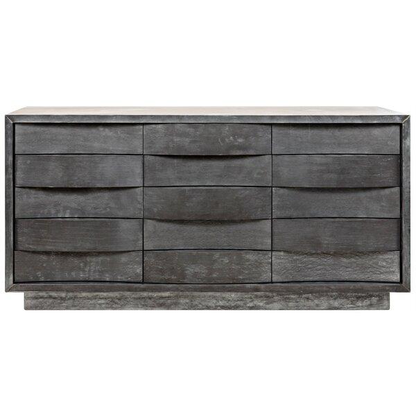 Godard 15 Drawer Dresser by Noir Noir