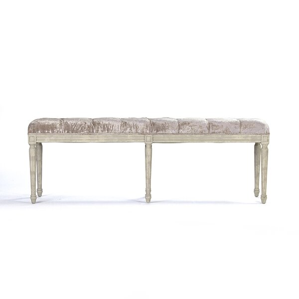 Louie Upholstered Bench by Zentique
