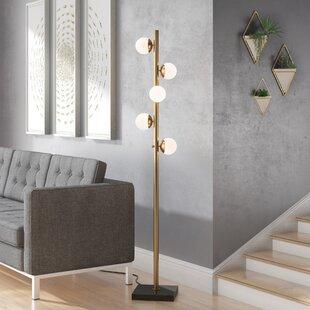 Affordable Reginald 65 Tree Floor Lamp By Langley Street