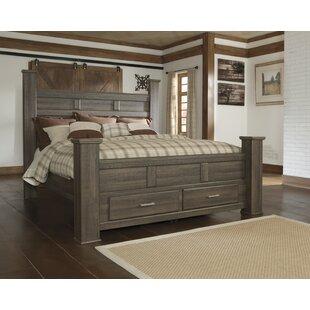Granite Range Storage Panel Bed by Loon Peak