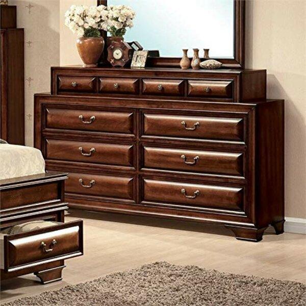 Lightner Wooden 10 Drawer Double Dresser by Bloomsbury Market