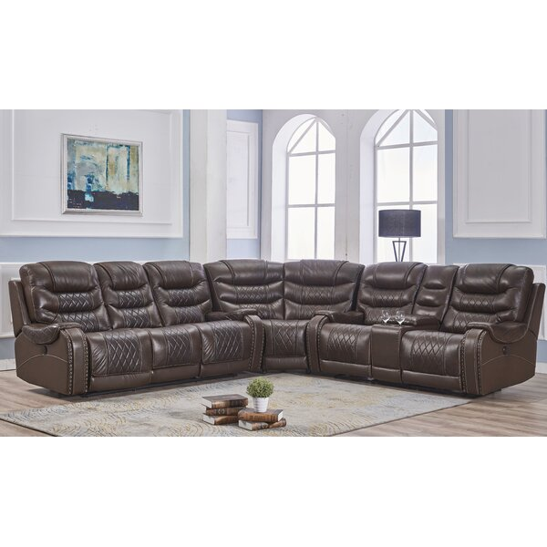 Guisborough Reclining Sectional By 17 Stories