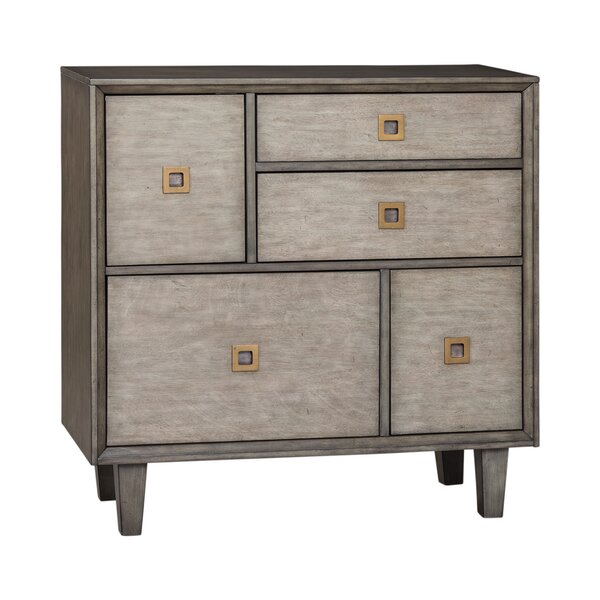 Aadrika 5 Drawer Apothecary Accent Chest