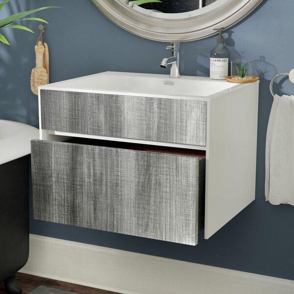 Brockman 24 Single Bathroom Vanity Set by Wade Logan