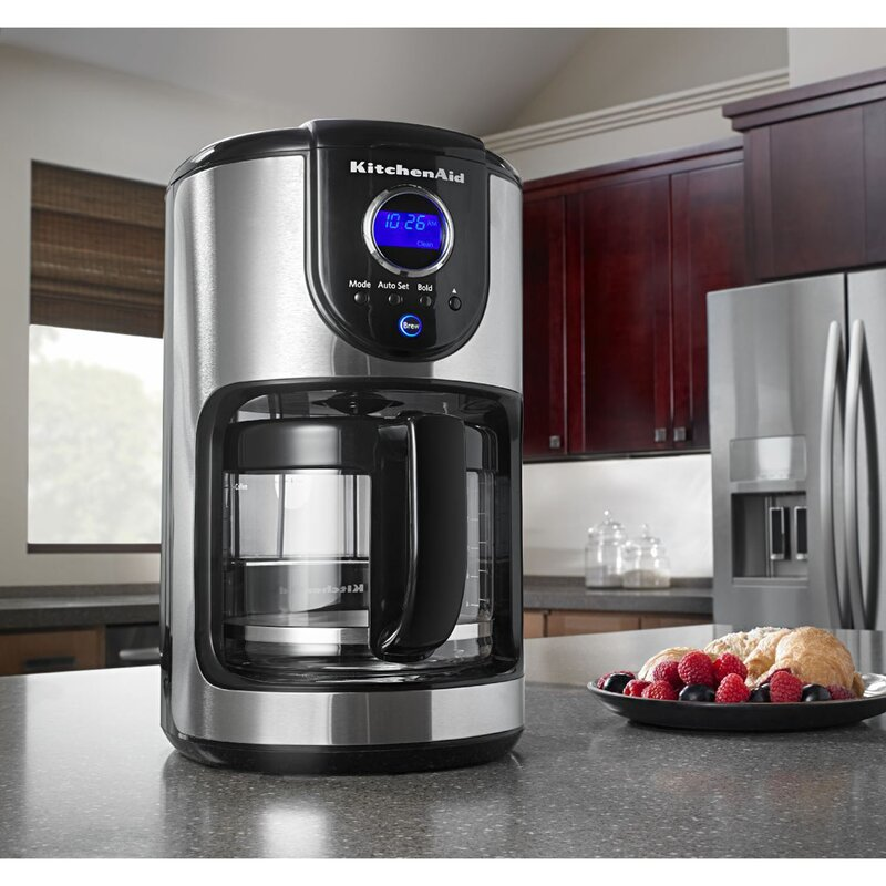 12 cup programmable coffee maker - Kitchen Aid Coffee Maker