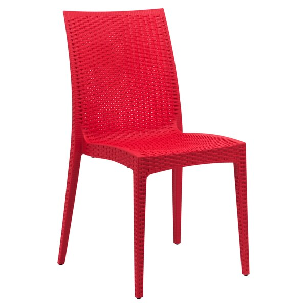 Quade Stacking Patio Dining Chair by Winston Porter Winston Porter