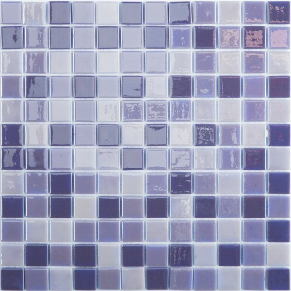 Lux Eco 12.375 W x 12.375 L Glass Mosaic in Northern Lights by Kellani