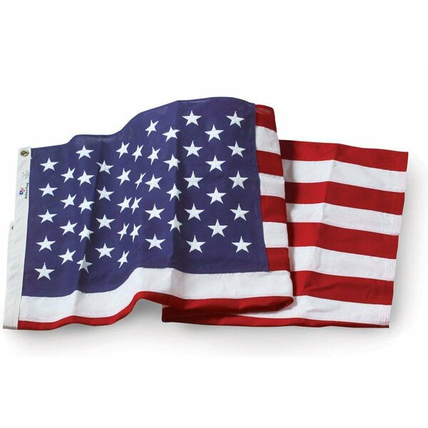 American Embroidered Cotton Flag by U.S. Flag Store