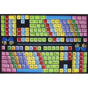 Fun Time Keyboard Kids Rug