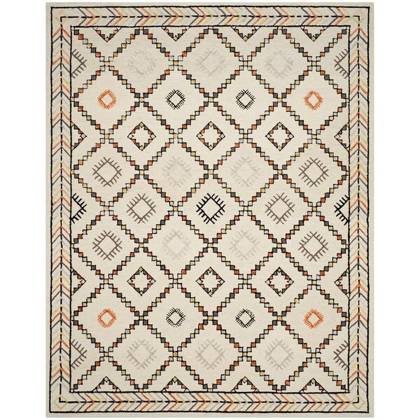Blokzijl Hand-Tufted Ivory Area Rug by Bungalow Rose