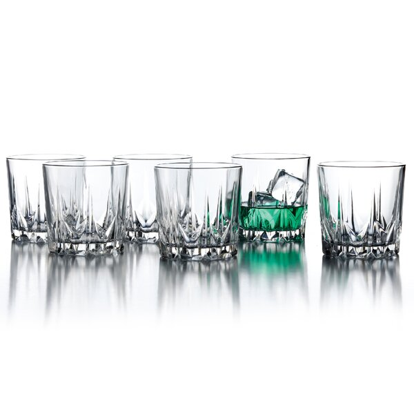 Florence Old Fashioned Glass (Set of 6) by Style Setter