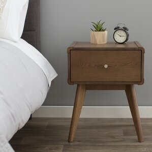 Leominster 1 Drawer Nightstand by Langley Street
