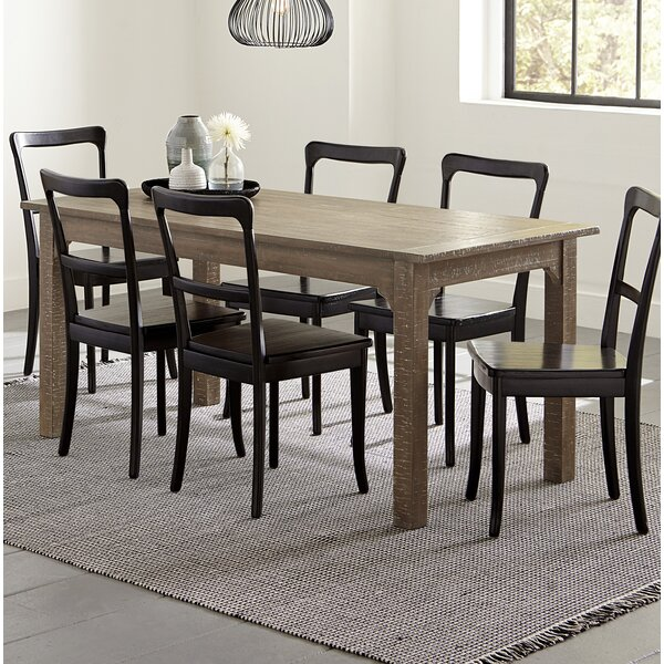 Branson 7 Piece Solid Wood Dining Set By Gracie Oaks