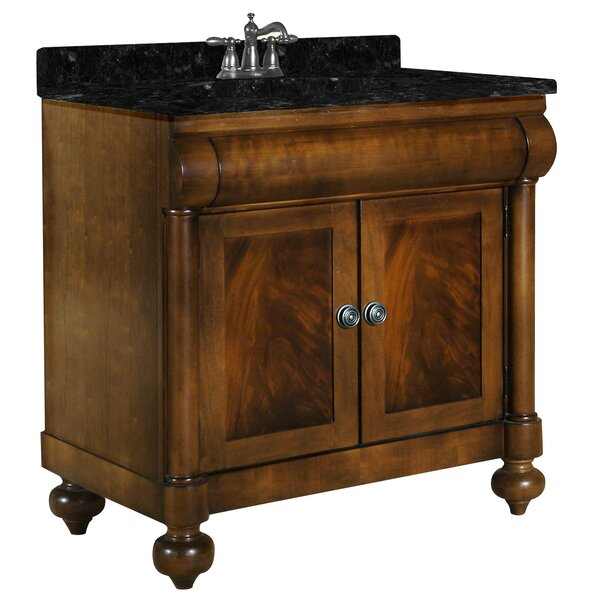 John Adams 36 Single Bathroom Vanity Set by Kaco InternationalJohn Adams 36 Single Bathroom Vanity Set by Kaco International