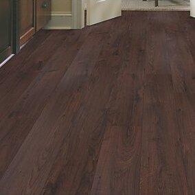 Cabrini 8 x 47 x 7.14mm Oak Laminate Flooring in Chocolate by Mohawk Flooring