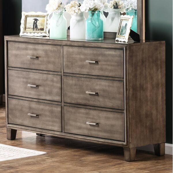 Brigham 6 Drawer Double Dresser by Trule Teen