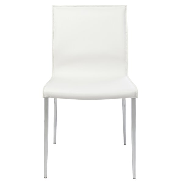 Colter Genuine Leather Upholstered Dining Chair by Nuevo