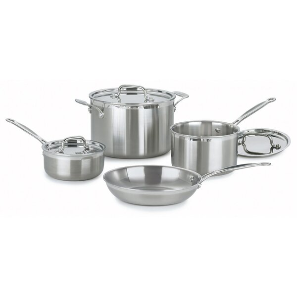 MultiClad Pro 7 Piece Cookware Set by Cuisinart