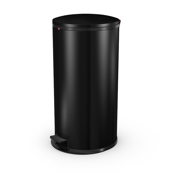 Steel 11.6 Gallon Step On Trash Can by Hailo USA Inc.