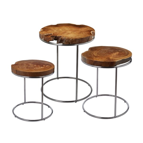 Gipson 3 Piece End Table Set (Set of 3) by Brayden Studio