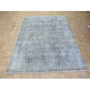 Reviews One-of-a-Kind Beason Over-dyed Persian Hand-Knotted Wool Gray Area Rug By Isabelline