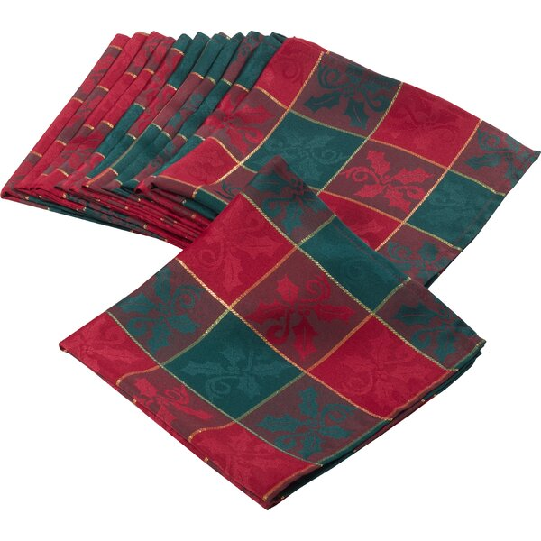 Royal De Noel Dinner Napkin (Set of 12) by The Hol