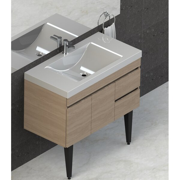 Byrns 37 Single Bathroom Vanity Set by Wrought Studio