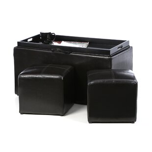 Marla 3 Piece Ottoman Zipcode Design Great Reviews