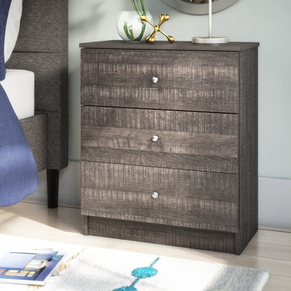 Herminia 3 Drawer Chest by Zipcode Design