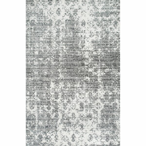 Bloom Gray Area Rug by Zipcode Design