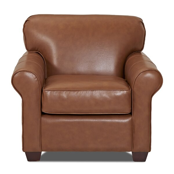 Jennifer Leather Club Chair By Klaussner Furniture
