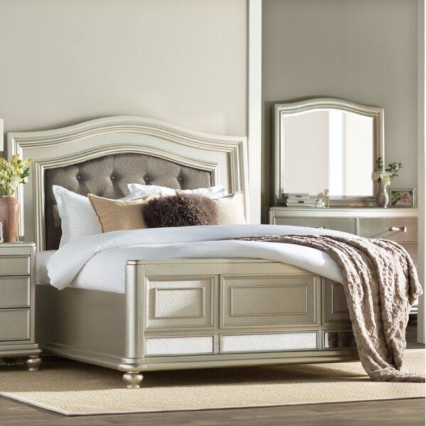 Guillaume Upholstered Platform Bed by Willa Arlo Interiors