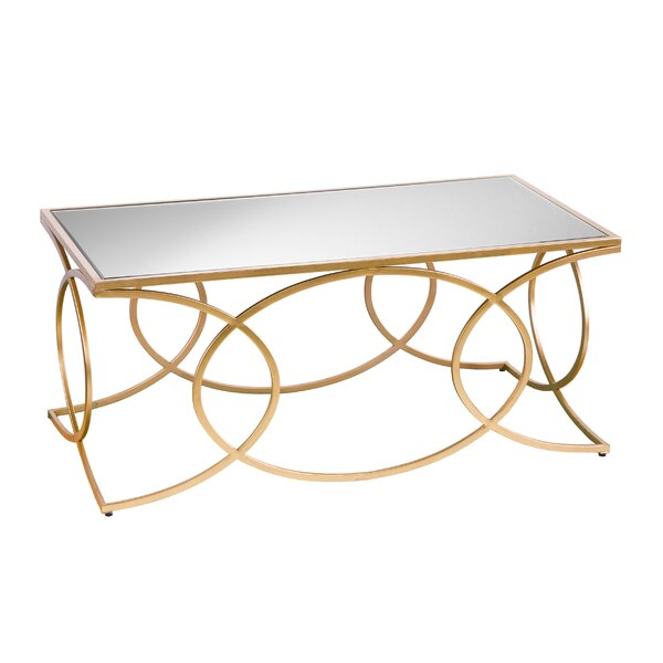 Dunlin Geometric 2 Piece Coffee Table Set by Everly Quinn