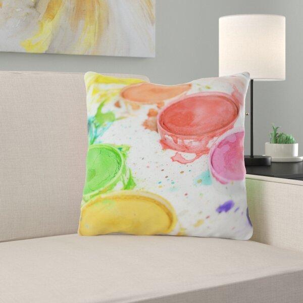 Wingo Painting Throw Pillow