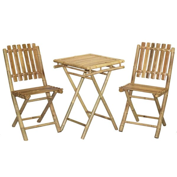Lendella 3 Piece Bistro Set by World Menagerie