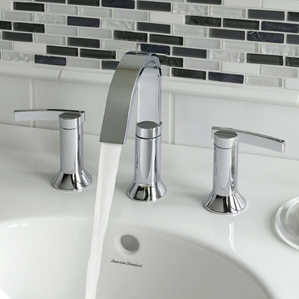 Berwick High Arc Widespread Bathroom Faucet with Speed Connect Drain by American Standard American Standard