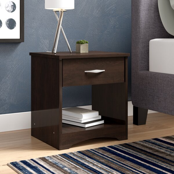 Ryker 1 Drawer Nightstand by Andover Mills