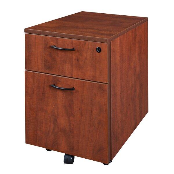 Quintero Low Mobile Box/File Pedestal File by Latitude Run