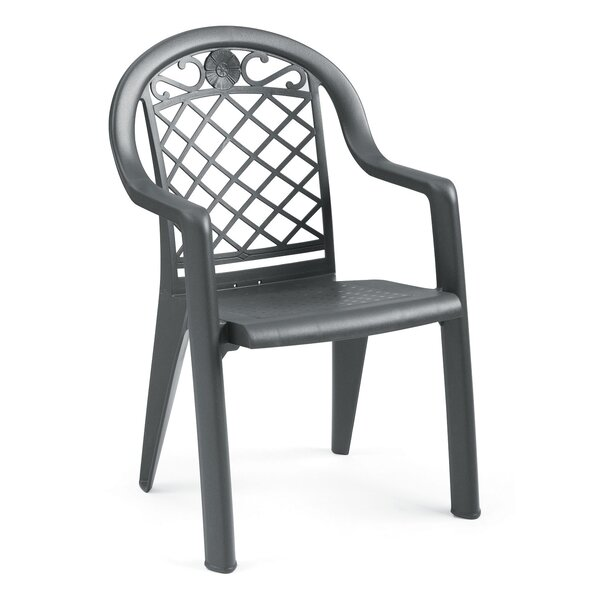 Savannah Stacking Patio Dining Chair (Set of 4) by Grosfillex Expert
