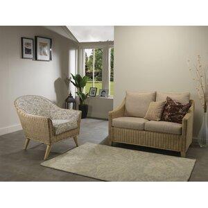 2-Sitzer Couchgarnitur Cavaillon von Sommerallee