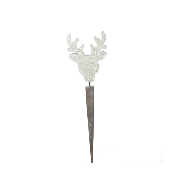 Schroer Wooden Deer on Pick Decoration by The Holiday Aisle