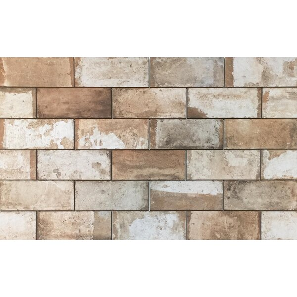 Havana 4 x 8 Porcelain Subway Tile in Cohiba by Tesoro