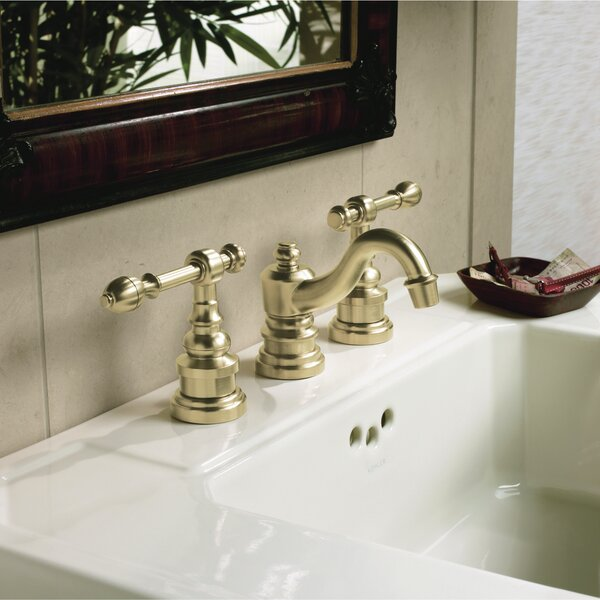 IV Georges Widespread Bathroom Faucet with Drain Assembly