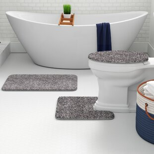 Enjoyable Kober Solid 3 Piece Bath Rug Set Gmtry Best Dining Table And Chair Ideas Images Gmtryco