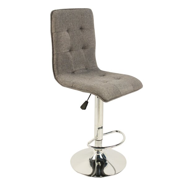 Astounding Frederickson Adjustable Height Swivel Bar Stool By Brayden Gmtry Best Dining Table And Chair Ideas Images Gmtryco