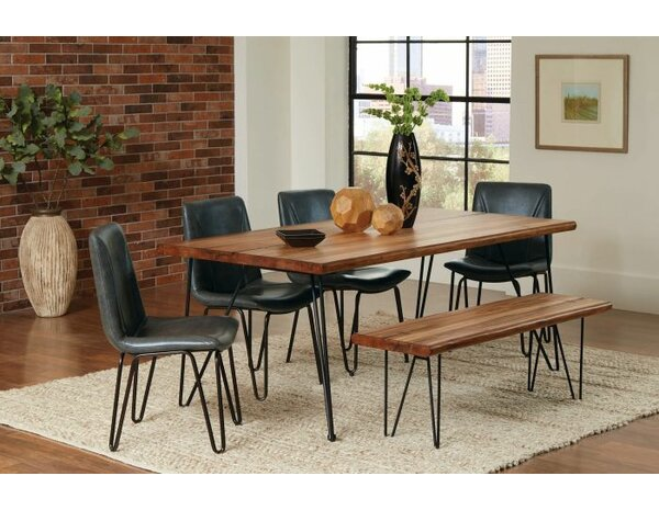 Pittenger 6 Piece Dining Set by Union Rustic