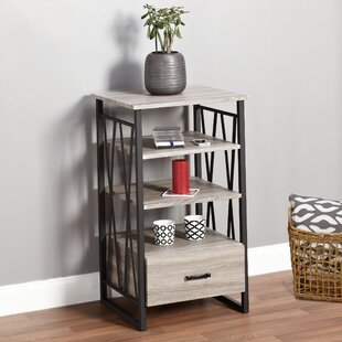 Reviews Piccolo End Table with Storage ByWrought Studio