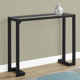 Tempered Glass Hall Console Table By Monarch Specialties Inc.