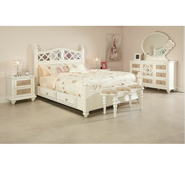 Paris Panel Configurable Bedroom Set by Najarian Furniture